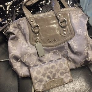 Coach Purse with wallet